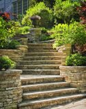 11930060-Natural-stone-stairs-landscaping-in-home-garden-Stock-Photo